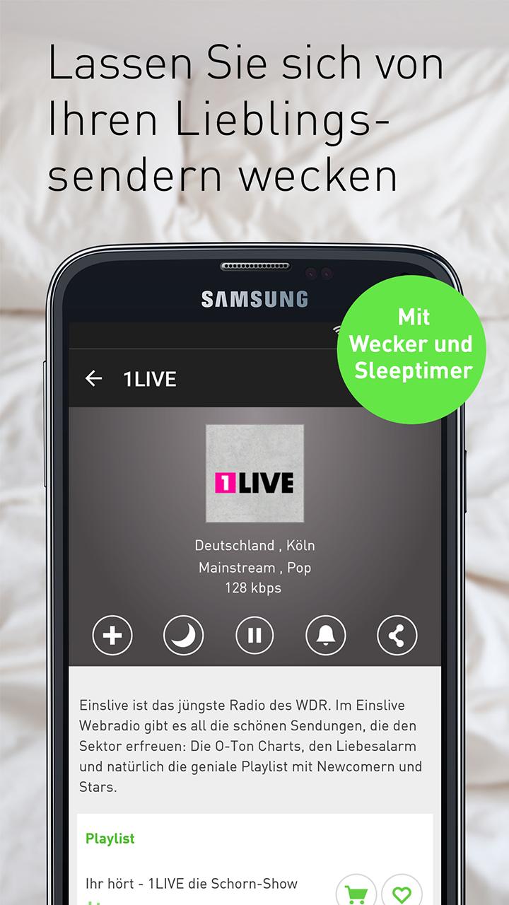 Radioplayer.De App
