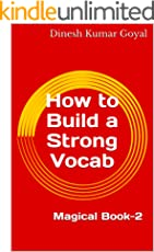 How to Build a Strong Vocab of  Essential English Words You Must Know For GMAT CAT TOEFL SAT GRE GATE IELTS TOEIC CAE FCE Vocabulary! Magical Book-2