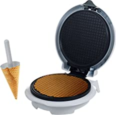 Chef Buddy 82-MM1234 Waffle Cone Maker with Cone Form