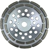 PRODIAMANT Premium Diamant-Schleiftopf 180mm universal 180/22,2 silber PDX829.025 - Bauhöhe 31 mm