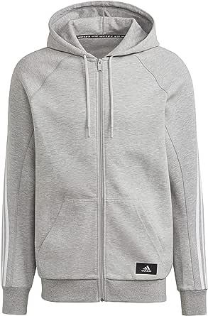 adidas Men's M Fi Fz Hood Sweatshirt