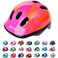 Meteor Casco Bici Ideale per Bambini e Adolescenti Caschi Perfetto per Downhill Ciclismo MTB Scooter Helmet Ideale per Tutte