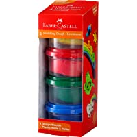 Faber-Castell Modelling Dough - Pack of 4 (Assorted)