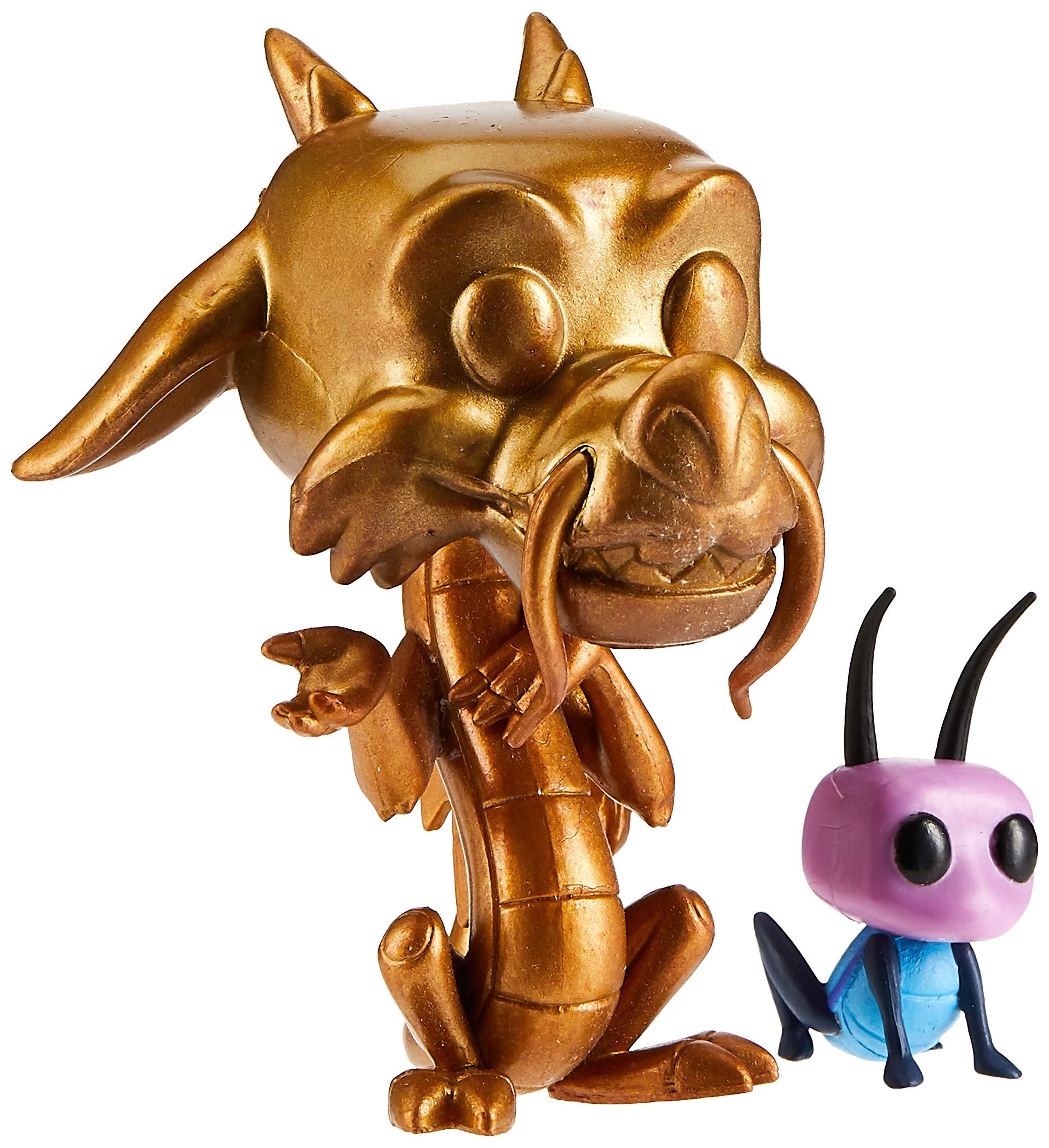 Funko Pop Mushu Dorado con Cri-Kee (Mulán 167) Funko Pop Disney