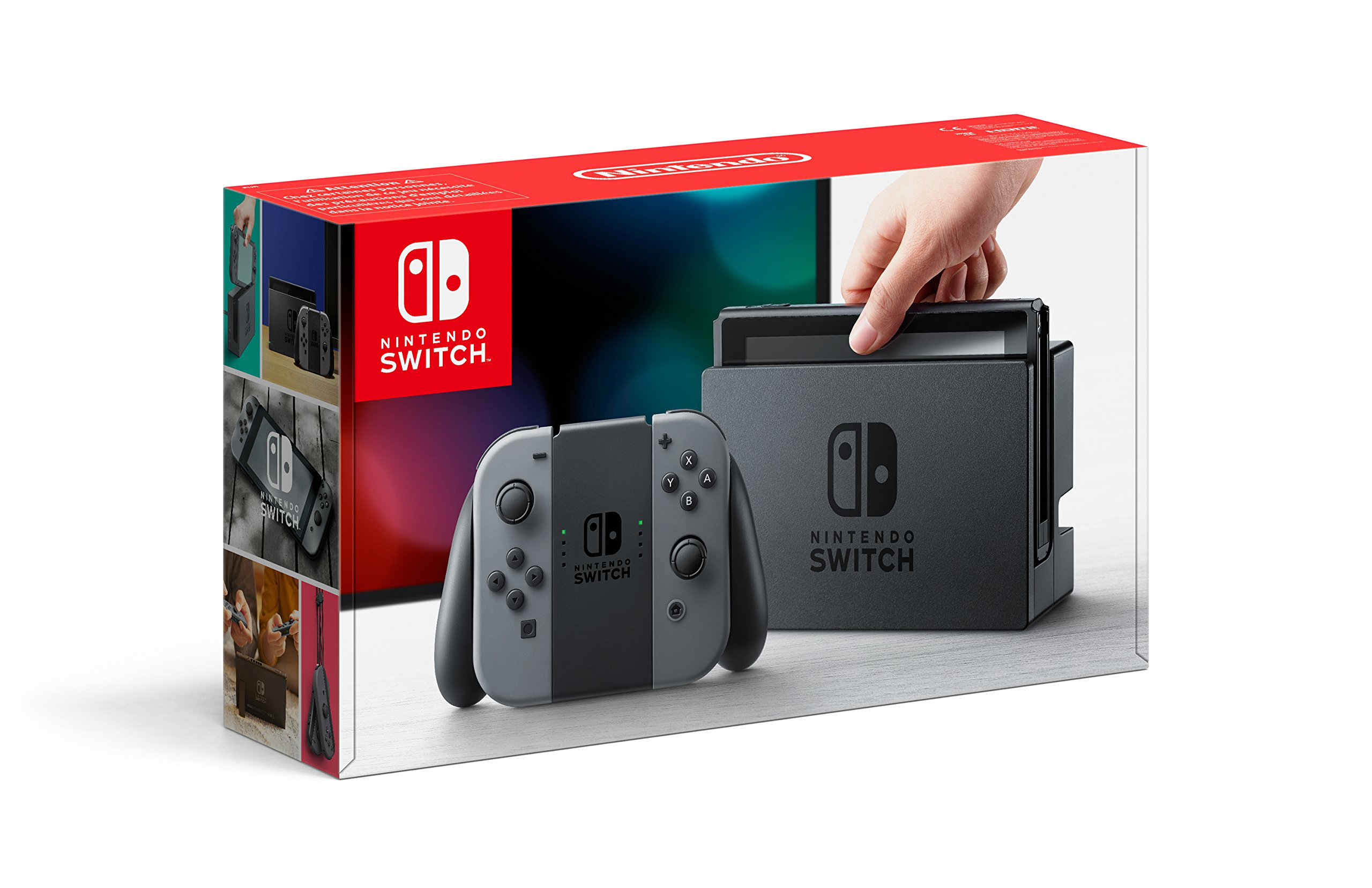 Nintendo Switch Grise