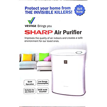 Sharp Vestige Air Purifier (Fp-F30E-H),For Room Size21M Square