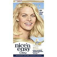 Clairol Nice'n Easy Crème Permanent Hair Dye, Ultra Light Natural Beach Blonde