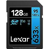 Lexar Professional 633x - Tarjeta de memoria de 128 GB (SDXC, UHS-I)