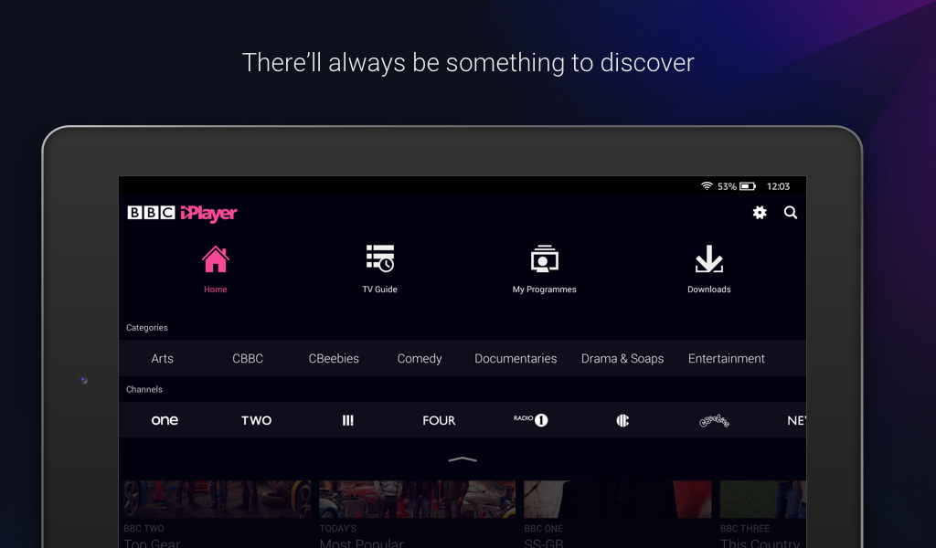bbc iplayer no download option android