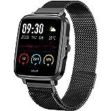 Helix Smart Watch Digital Black Dial Unisex-Adult Watch-TW0HXW205T