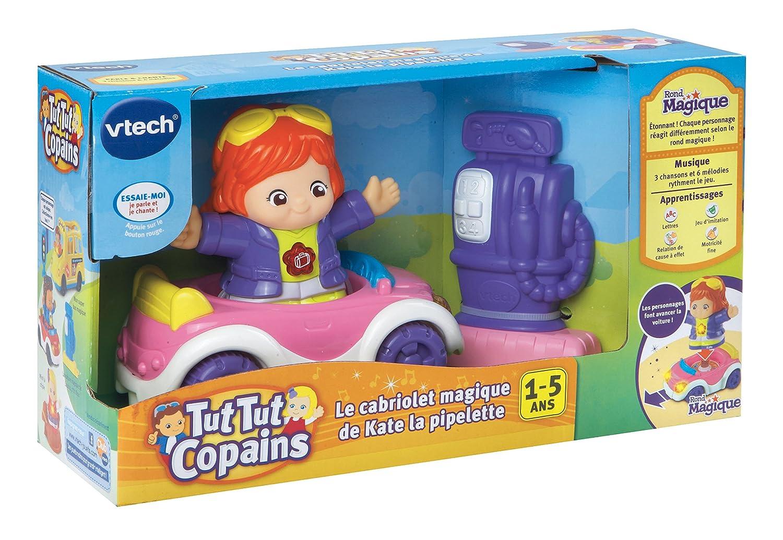 Vtech 162705 jouet musical tut tut copains le cabriolet magique de kate la pipelette amazon fr jeux et jouets