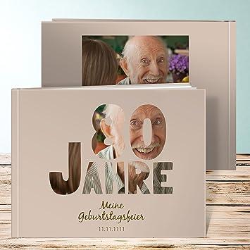 Fotobuch Zum 40 Geburtstag, Stolze 80 36 Seiten, Hardcover 290x222 Mm  Personalisierbar, Braun