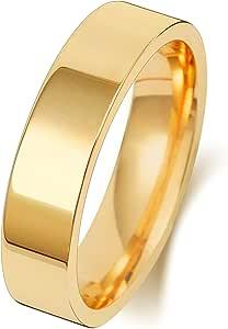 Anello Fede Nuziale Uomo/Donna 5mm in Oro giallo 9k (375) WJS189969KY