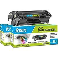 Foxin FTC-88A Toner Cartridge Compatible for Hp Laser-Jet Series (Black)