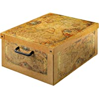 Kanguru 026 MP Boîte BAULINO Marco Polo en Carton Recyclable pour Ranger vêtements, Armoire, joutes, Couleur Jaune/Beige…