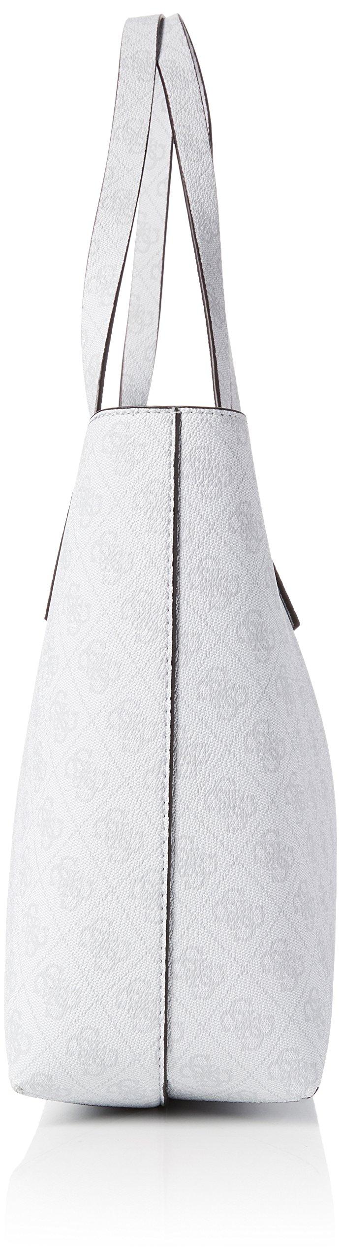 Guess Hwel6422150, Borsa a Mano Donna, Argento (Ice Silver), 12.5x27x42.5 cm (W x H x L) FACESHOPPING