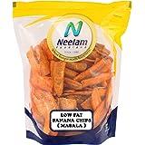 Neelam Foodland Low Fat Banana Chips Masala, 400g