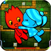 Redboy and Bluegirl in Light Temple Maze PRO