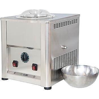 Gelatiera CUBE 1,5 Autorefrigerante in Acciaio Inox AISI 304 - 316 - Perfetta per la ristorazione e per il Catering Totalmente Made in Italy