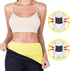 Frackkon Sweat Sliming Belt Hot Body Shaper | Waist Shapers |hot Shaper Best High Quality Neoprene Neotex Fabric Unisex for Men and Women - Perfect for Waist Slimming Weight Loss - Size - XXXL