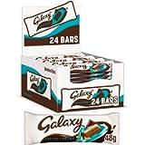 Galaxy Salted Caramel Chocolate Bars Bulk Box, 24 Bars of 48 g, (Packaging May Vary)