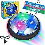 GUBOOM Air Hockey, Hover Ball, Air Power Fußball mit LED Beleuchtung, Fussball Geschenke Ab 5-10 Jahre Jungen, Spielzeug Jung