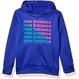 New Balance girls Graphic Hoodie Hooded Sweatshirt