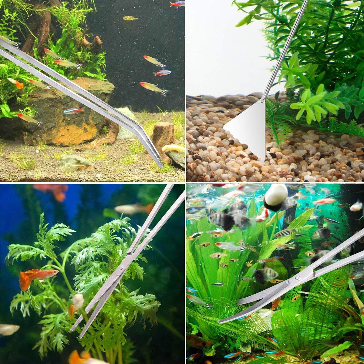 Bedee Fish Tank Cleaning Kit 6 In 1 Aquarium Glass Tank Cleaning Kit With Gravel Cleaning & Maintenance Pet Supplies