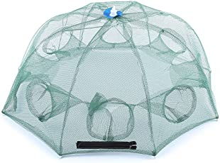 Zorbes Light 8 Side Bait Fishing Trap Net Angling Outdoor Appliance