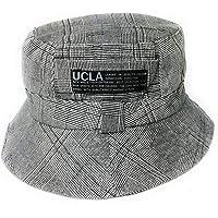 Cappello a secchiello reversibile in cotone morbido a doppio strato - Cappello da sole da uomo e donna