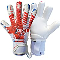 GK Saver football goalkeeper gloves Protech 401 Union contact pro negative cut professional goalie gloves size 6 to 11…