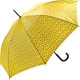 Paraguas para mujer con estampado floral, amarillo (Amarillo) - SUSINOEXT18008YELLOWFLOWERS