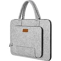 Ropch Laptoptasche 17,3 Zoll (43,9cm) Filz Notebooktasche Laptop Hülle Schutzhülle Tasche Schutzabdeckung mit Griff für…