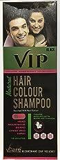 VCare Vip Hair Colour Shampoo 5 In 1 - 180Ml (Black)
