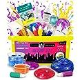Original Stationery DIY Slime Kit - DIY Slime Making Kit For Boys And Girls - Add Ins for Alien Egg Slime, Crystal Slime, Squ