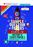 Oswaal ICSE Sample Question Papers Class 10 History and Civics (For March 2019 Exam)