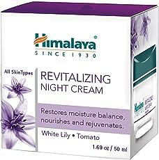 Himalaya Herbals Revitalizing Night Cream, 50ml