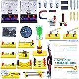 Teenii STEM Laboratorio di Fisica per Esperimenti con Circuiti di Base per L'apprendimento di Elettricità Magnetismo ed Elett
