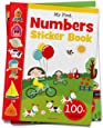 My First Numbers Sticker Book: Exciting Sticker Book With 100 Stickers