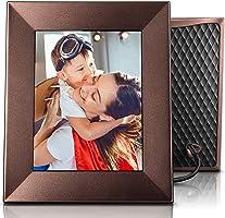 Nixplay Iris Cadre Photo Wi-FI Cloud 8 Pouces, Haute résolution, envoyez des Photos Via Application Nixplay, connecté...