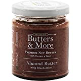 Butters & More Vegan Almond Butter with Real Blueberries (200G). No Artificial Flavours Or Colour.