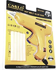Carlo Professional Tools Hot Melt Glue gun 60W and sticks fast easy simple toys models artificial flowers wood furniture card
