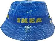 IKEA Bucket Hat with Pencil Handmade Cap Fashion Street Wear Blue