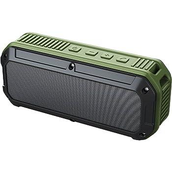 AUKEY Bluetooth Altoparlante V4.0 Protetto da Spruzzi di Acqua e Antipolvere per Uso Esterno, con Prestazione più Eccellente di Bassi e Riproduzione in Volume più Alto per iPhone, iPad, Samsung, HTC ecc. (SK-M8 IP64)