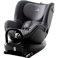 Britax Römer Reboarder Kindersitz 0 - 4 Jahre I 0 - 18 kg I DUALFIX 2 R Autositz Drehbar Isofix Gruppe 0+/1 I Storm Grey