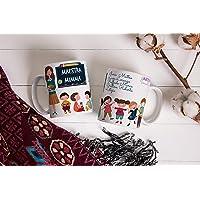 Grazie Maestra Tazza mug personalizzata con la maestra e gli alunni personalizzata con nomi e frase regalo per la…