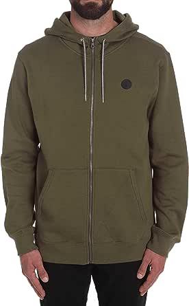 Volcom Men's Sngl Stn Zip Fleece Jacket