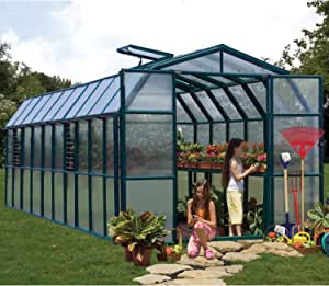 Serre De Jardin Polycarbonate Rion Cezanne 258x631x251 Amazon Fr Jardin