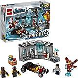 LEGO Super Heroes Armeria di Iron Man, Set di Costruzioni Ricco di Dettagli per Bambini 7 Anni e per i Fan Marvel Avengers, 7