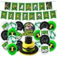 Ben 10 party supplies birthday,ben 10 birthday party supplies Set includes happy birthday banner,ben 10 cake toppers,birthday